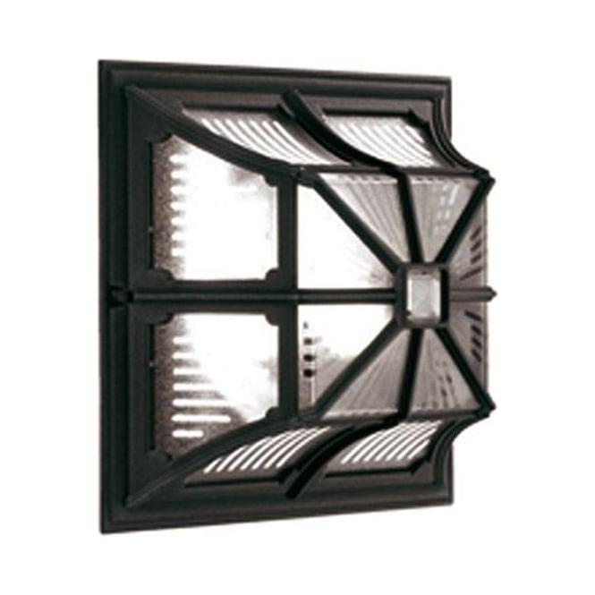Elstead Lighting Chapel Up Ceiling Flush Lantern - Black
