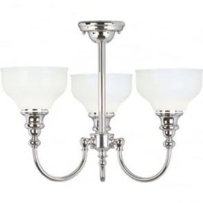 Cheadle 3 Light Ceiling Light Polished Chrome