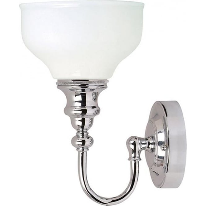 Elstead Lighting Cheadle Single Wall Light Polished Chrome