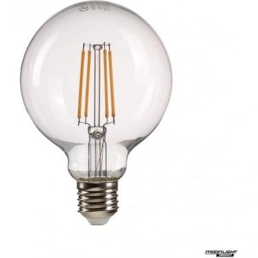 Clear globe E27 8W LED Lamp