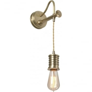 Douille Wall Light Aged Brass