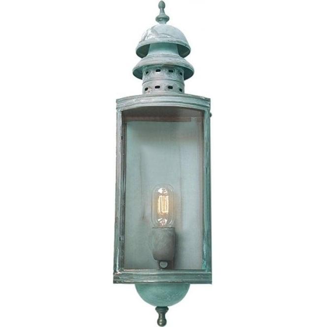 Elstead Lighting Downing Street Wall Lantern - Verdi