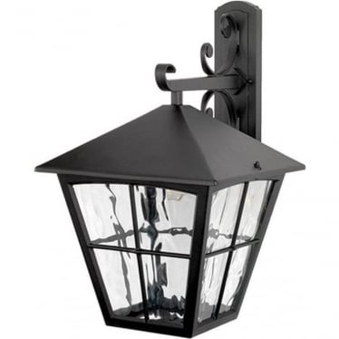 Edinburgh Wall Down Lantern - Black