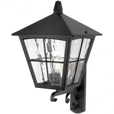 Edinburgh Wall Up Lantern - Black