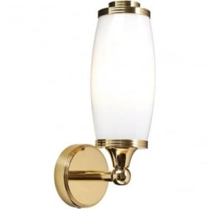 Eliot Single Wall Light- Polished Brass