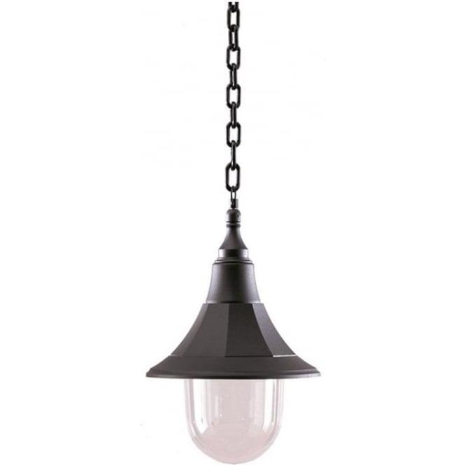 Elstead Lighting Elstead Shannon chain lantern - Black