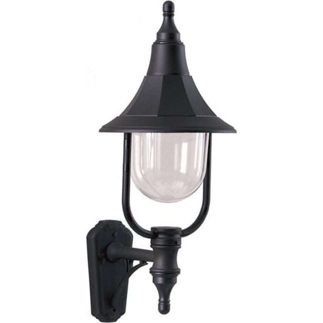 Elstead Lighting Elstead Shannon up wall lantern - Black