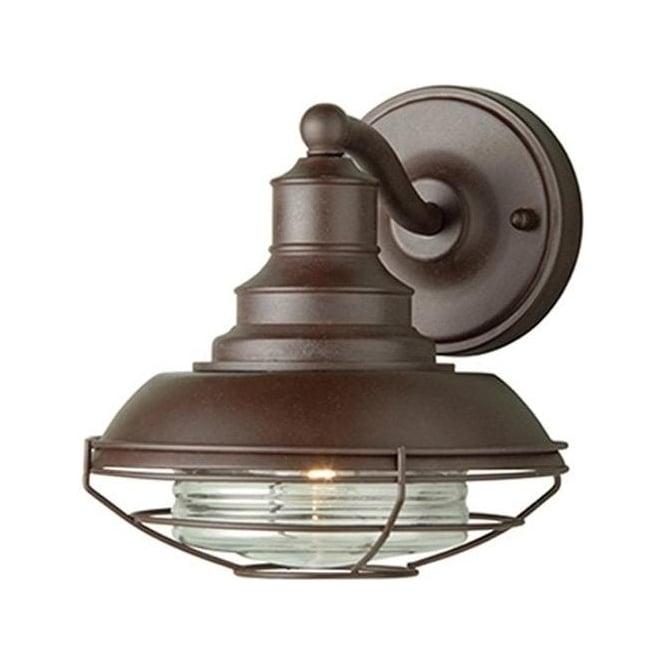 Elstead Lighting Euston Wall Lantern - Old Bronze