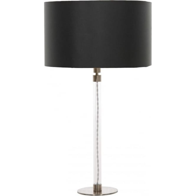 Elstead Lighting Flow Table Lamp with Precious Cream Shade