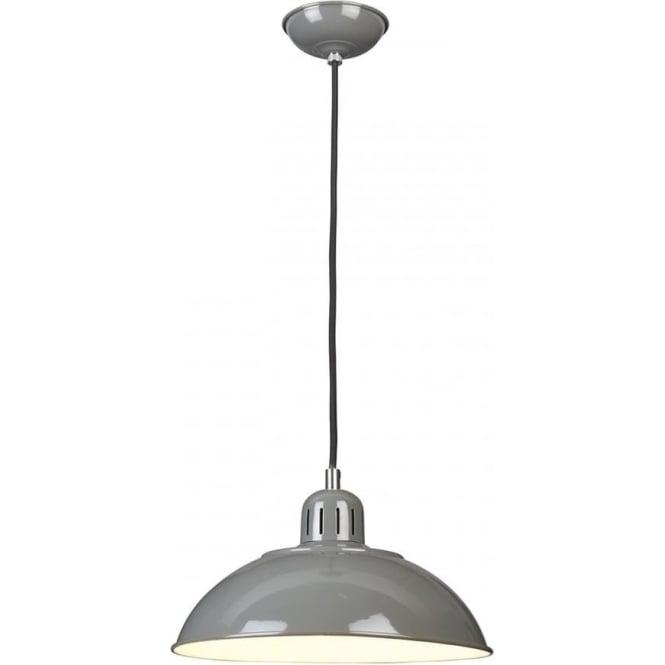 Elstead Lighting Franklin Pendant Grey