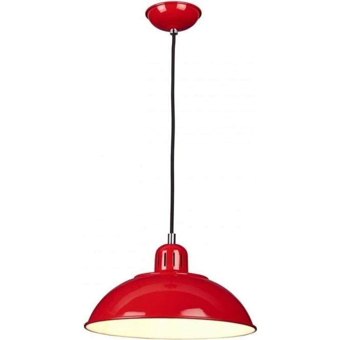 Elstead Lighting Franklin Pendant Red