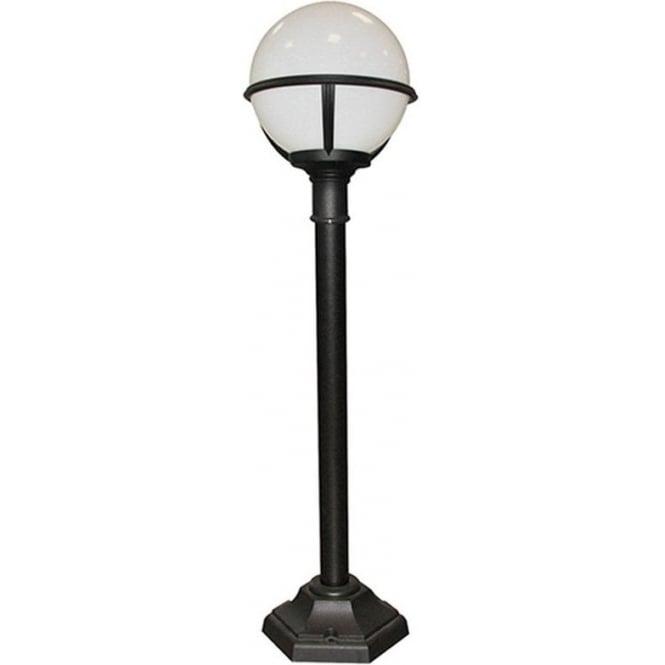 Elstead Lighting Glenbeigh Pillar Lantern - Black