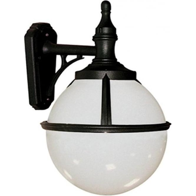 Elstead Lighting Glenbeigh Wall Lantern - Black