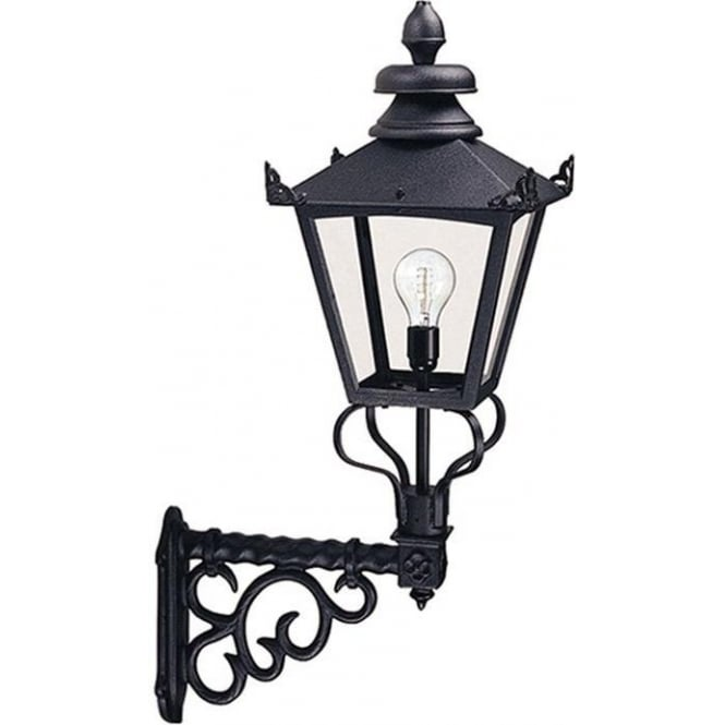 Elstead Lighting Grampian Wall Lantern - Black