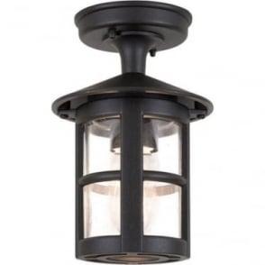 Hereford Rigid Tube Lantern - Black