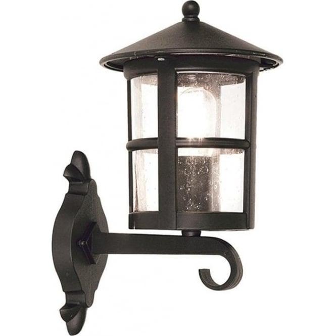 Elstead Lighting Hereford Wall Up Lantern - Black