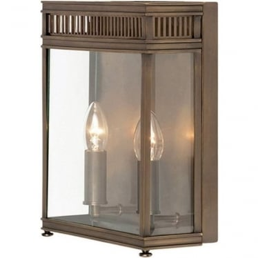 Holborn Half Lantern Medium - Dark Bronze