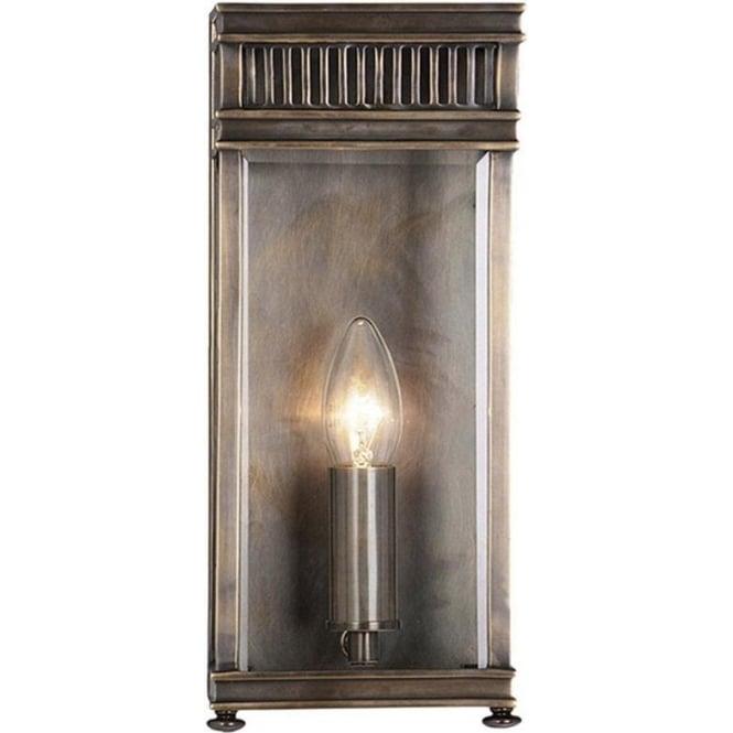 Elstead Lighting Holborn Half Lantern Small - Dark Bronze