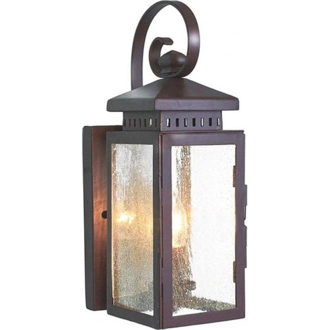 Elstead Lighting Hythe Wall Lantern - Old Bronze