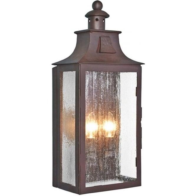 Elstead Lighting Kendal Wall Lantern - Old Bronze