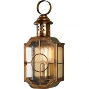 Kennington Wall Lantern - Brass