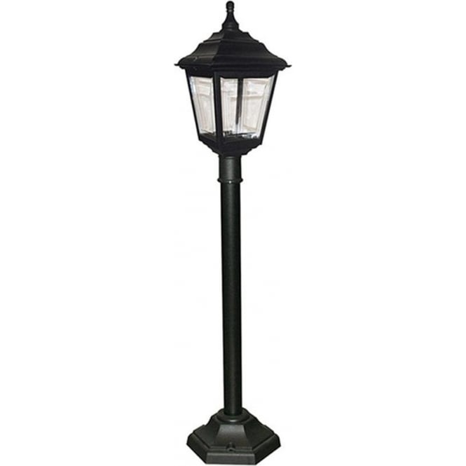 Elstead Lighting Kerry Pillar Lantern - Black