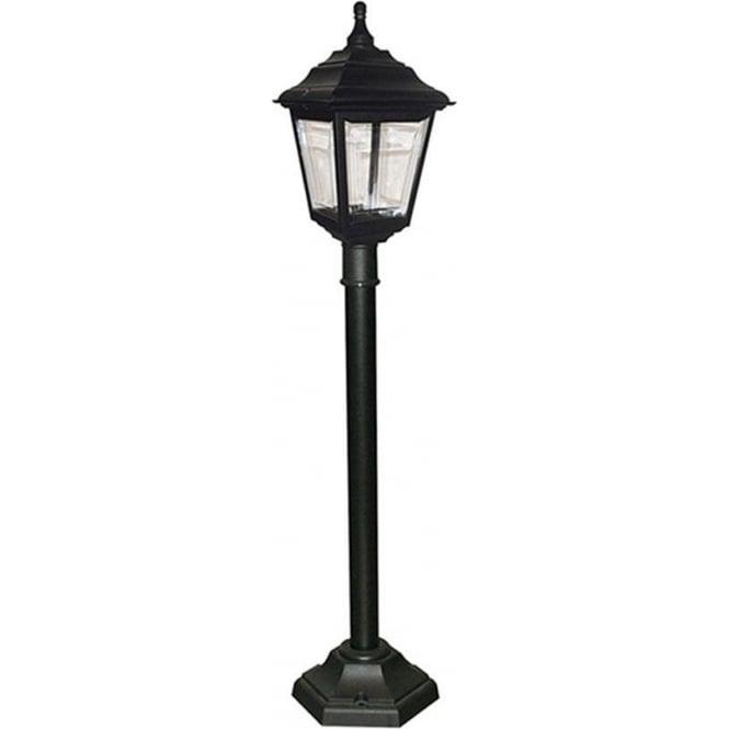 Elstead Lighting Kerry Pillar Lantern - Black