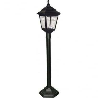 Kerry Pillar Lantern - Black