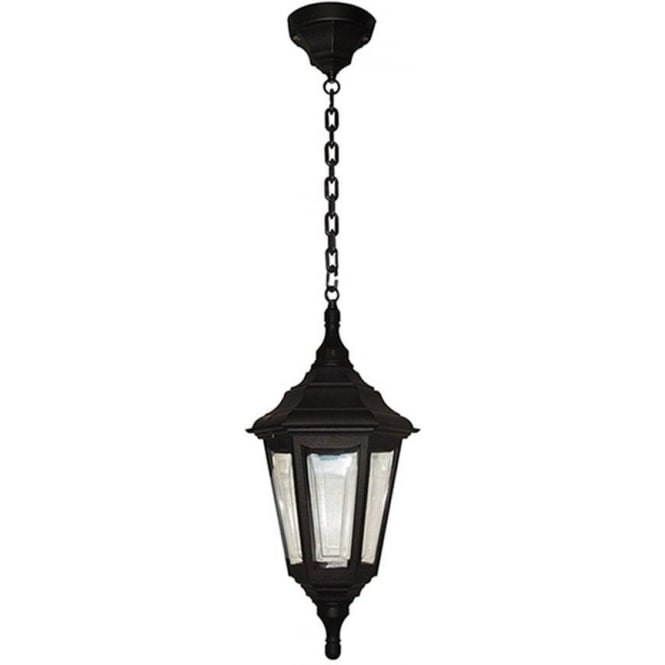 Elstead Lighting Kinsale Chain Lantern - Black