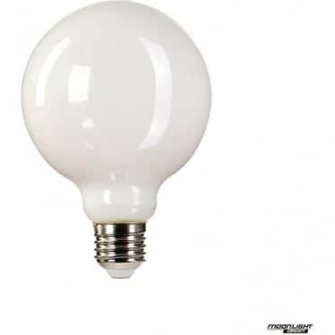 LED Lamp white globe E27 8W