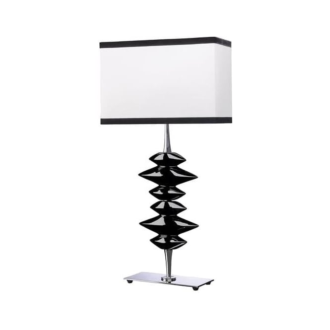 Elstead Lighting Lui's Collection Alexander Black Table Lamp