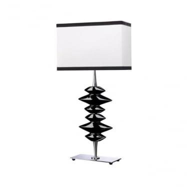 Lui's Collection Alexander Black Table Lamp