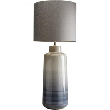 Lui's Collection Bacari Large Blue and Grey Lamp - Base only