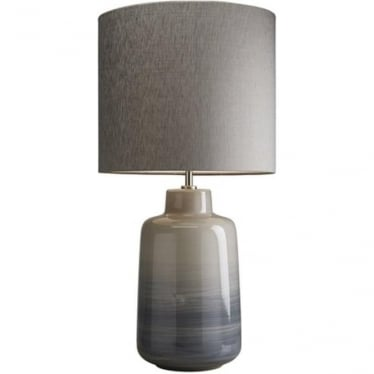 Lui's Collection Bacari Small Blue and Grey Lamp