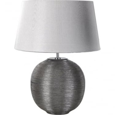 Lui's Collection Caesar Silver Table Lamp