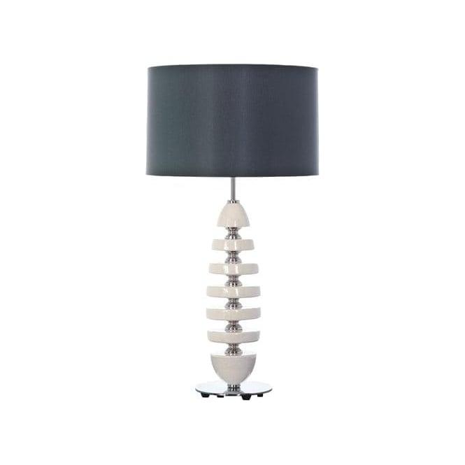 Elstead Lighting Lui's Collection Cordelia Cream Ceramic Lamp - Base only