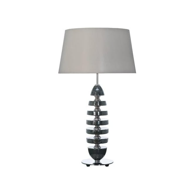 Elstead Lighting Lui's Collection Grace Graphite Ceramic Table Lamp - Base only