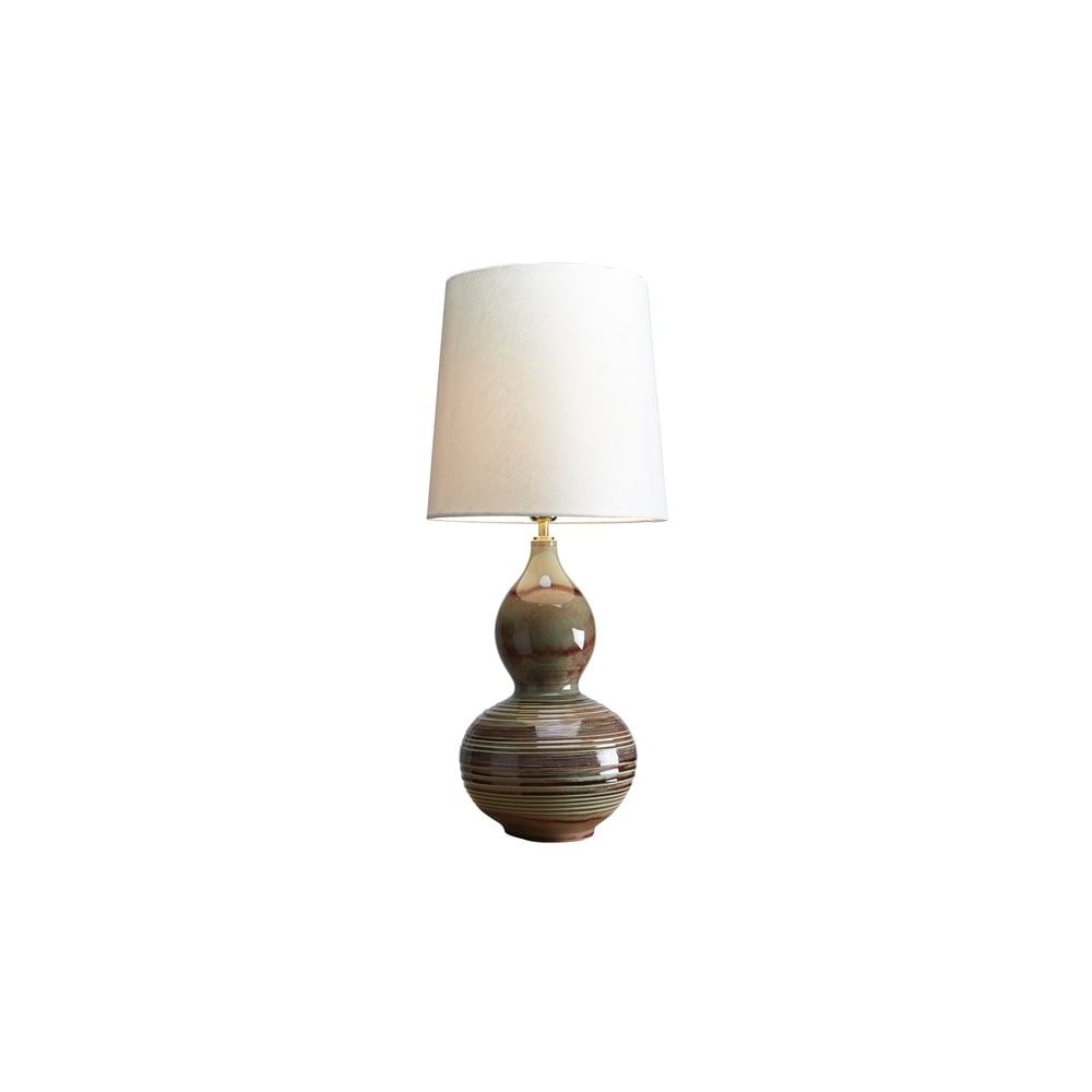 Luiu0026#039;s Collection Jade Gourd Table Lamp   Base Only