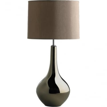 Lui's Collection Job Bronze Metallic Table Lamp
