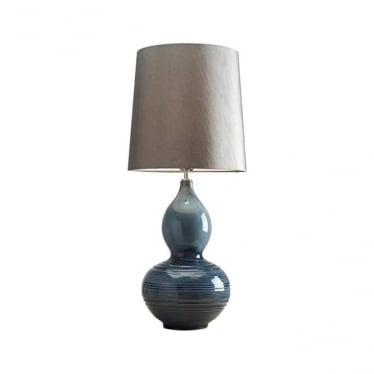 Lui's Collection Lapis Gourd Table Lamp