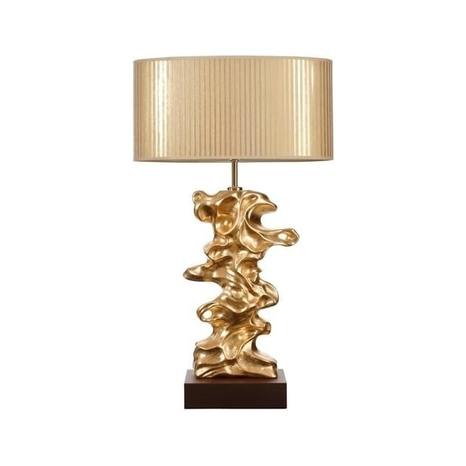 Elstead Lighting Lui's Collection Libero Gold Leaf Table Lamp - Base only