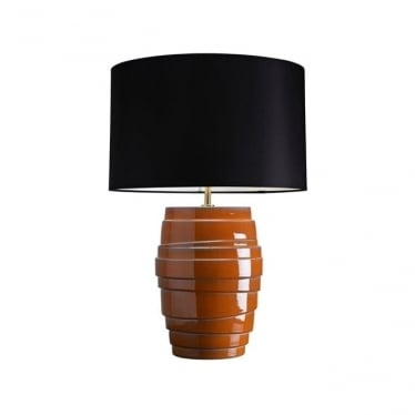 Lui's Collection Mars Orange Tiered Lamp