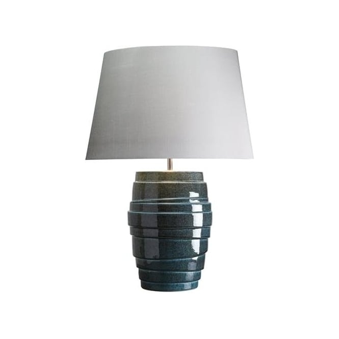 Elstead Lighting Lui's Collection Neptune Blue Tiered Lamp