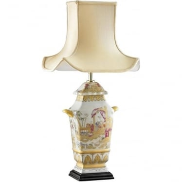 Lui's Collection Painted Children Table Lamp