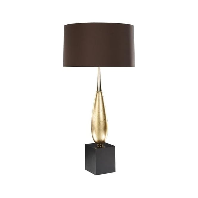 Elstead Lighting Lui's Collection Solomon Gold Leaf Table Lamp - Base only