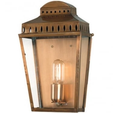 Mansion House Wall Lantern - Brass