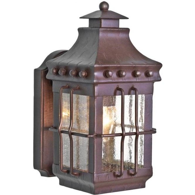 Elstead Lighting Merrow Wall Lantern - Old Bronze
