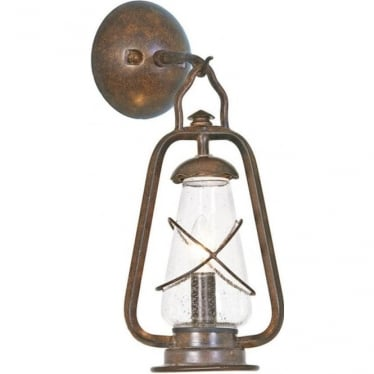 Miners Wall Lantern - Old Bronze