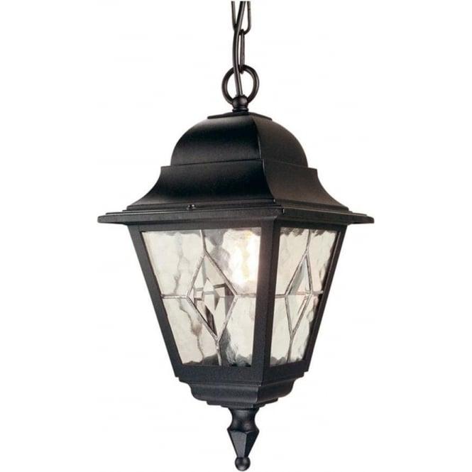 Elstead Lighting Norfolk Chain Lantern - Black