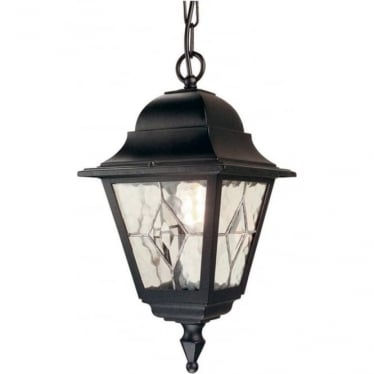 Norfolk Chain Lantern - Black